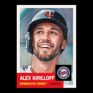 Topps MLB® Living Set® Card #422 - Alex Kirilloff