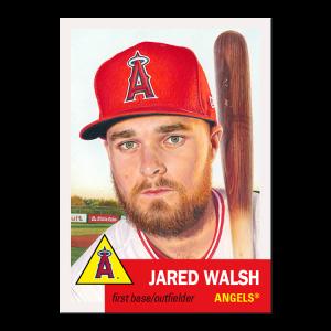 Topps MLB® Living Set® Card #423 - Jared Walsh