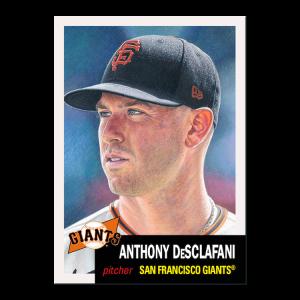 Topps MLB® Living Set® Card #457 - Anthony DeSclafani