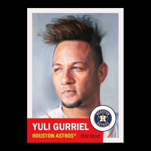 Topps MLB® Living Set® Card #458 - Yuli Gurriel