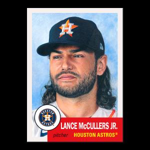 Topps MLB® Living Set® Card #460 - Lance McCullers Jr.