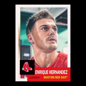 Topps MLB® Living Set® Card #461 - Enrique Hernandez