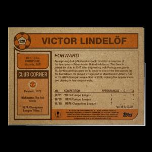 Topps UCL Living Set Card #320 - Victor Lindelöf