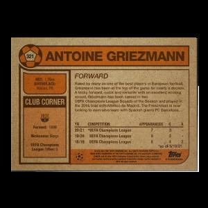 Topps UCL Living Set Card #321 - Antoine Griezmann