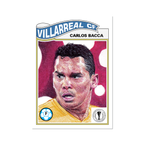Topps UCL Living Set Card #331 - Carlos Bacca