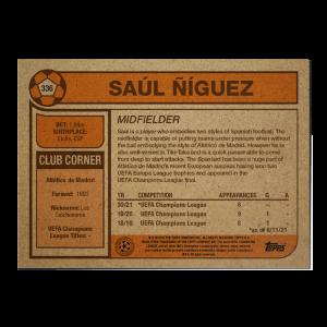 Topps UCL Living Set Card #336 - Saúl Ñíguez
