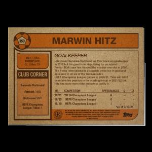 Topps UCL Living Set Card #350 - Marwin Hitz