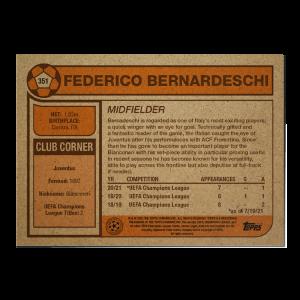 Topps UCL Living Set Card #351 - Federico Bernardeschi