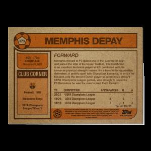Topps UCL Living Set Card #373 - Memphis Depay