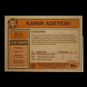 Topps UCL Living Set Card #376 - Karim Adeyemi