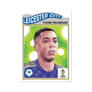 Topps UCL Living Set Card #378 - Youri Tielemans