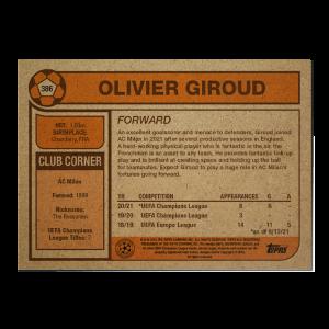 Topps UCL Living Set Card #386 - Olivier Giroud