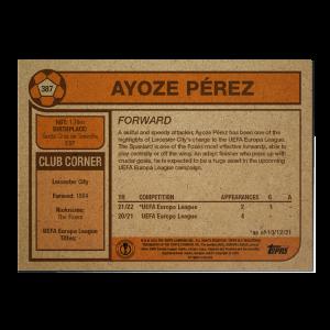 Topps UCL Living Set Card #387 - Ayoze Perez