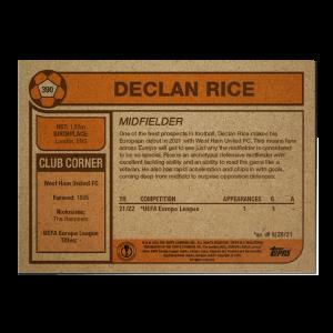 Topps UCL Living Set Card #390 - Declan Rice