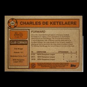 Topps UCL Living Set Card #392 - Charles De Ketelaere