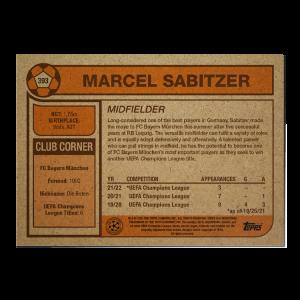 Topps UCL Living Set Card #393 - Marcel Sabitzer