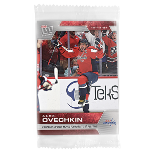 2021-22 NHL TOPPS NOW® 12-Sticker Pack - Stickers #1-12