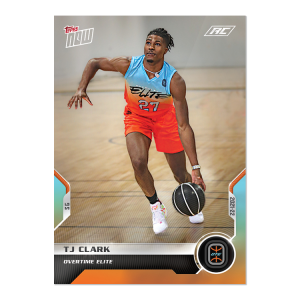 4-Card Bundle - 2021 Overtime Elite TOPPS NOW® Debut Cards: 1-4