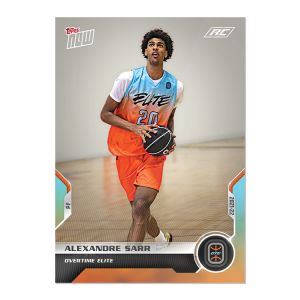 4-Card Bundle - 2021 Overtime Elite TOPPS NOW® Debut Cards: 13-16