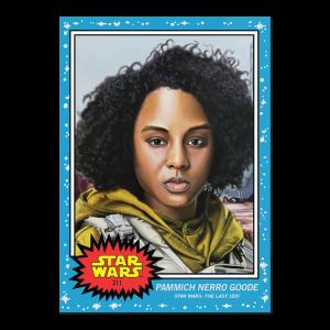 Topps Star Wars Living Set® Card #211 - Pammich Nerro Goode