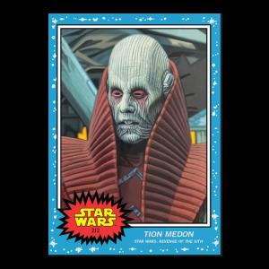 Topps Star Wars Living Set® Card #212 - Tion Medon