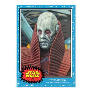 Topps Star Wars Living Set® 2-Card Bundle - Cards #211-212