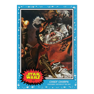 Topps Star Wars Living Set® Card #213 - Chief Chirpa