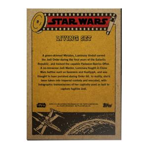 Topps Star Wars Living Set® Card #214 - Luminara Unduli