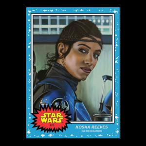 Topps Star Wars Living Set® Card #215 - Koska Reeves
