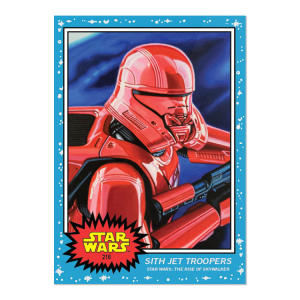 Topps Star Wars Living Set® Card #216 - Sith Jet Troopers