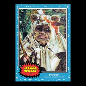 Topps Star Wars Living Set® Card #242 - Paploo