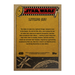 Topps Star Wars Living Set® Card #249 - Ephraim Bridger