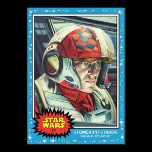 Topps Star Wars Living Set® Card #250 - Stomeroni Starck