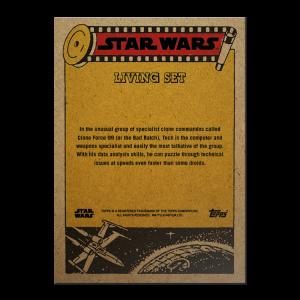 Topps Star Wars Living Set® Card #252 - Tech