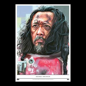 Topps UK Living Set Fine Art Print #115 - Baze Malbus #'d to 100