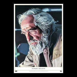 Topps Living Set Fine Art Print #133 - Jan Dodonna - Gold #'d to 1
