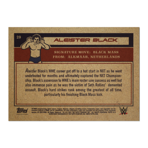 Topps UK WWE Living Set® Card #29 - Aleister Black