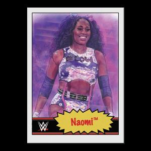 Topps WWE Living Set® Card #42 - Naomi