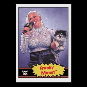 Topps WWE Living Set® Card #68 - Franky Monet