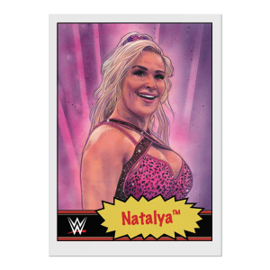 Topps WWE Living Set® Card #69 - Natalya