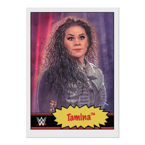 Topps WWE Living Set® Card #70 - Tamina