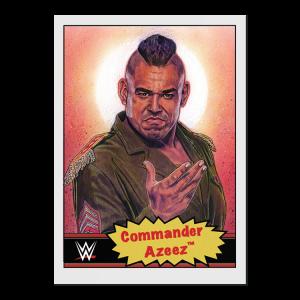 Topps WWE Living Set® Card #76 - Commander Azeez