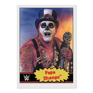 Topps WWE Living Set® Card #77 - Papa Shango