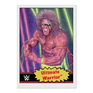 Topps WWE Living Set® Card #78 - Ultimate Warrior
