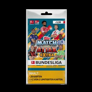 Bundesliga Match Attax Extra 2021 - Blister Pack