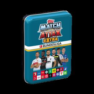 Bundesliga Match Attax Extra 2021 - Mini-Sammeldose Blau