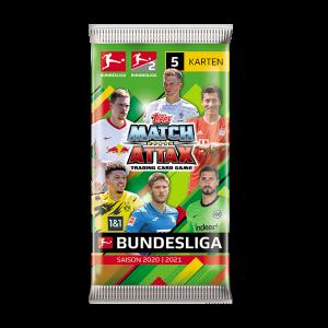 Bundesliga Match Attax 20-21 - Päckchen (5 Karten)