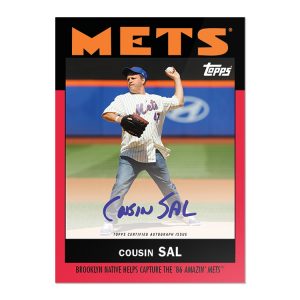 """On-Card Auto # to 10 - Cousin Sal - """"Once Upon a Time in Queens"""""""