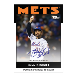 """On-Card Auto # to 125 - Jimmy Kimmel - """"Once Upon a Time in Queens"""""""