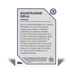 The Lost Rookie Cards – Gianfranco Zola
